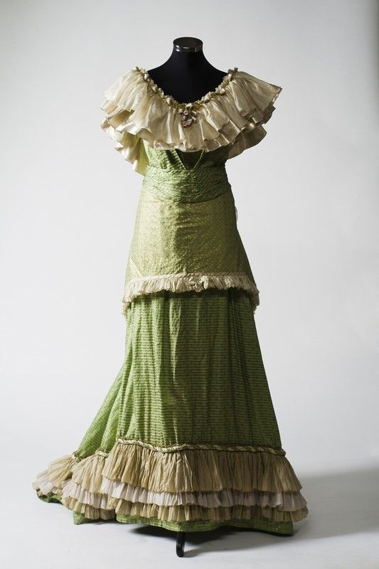 2877 Dress from XIX century, Russia