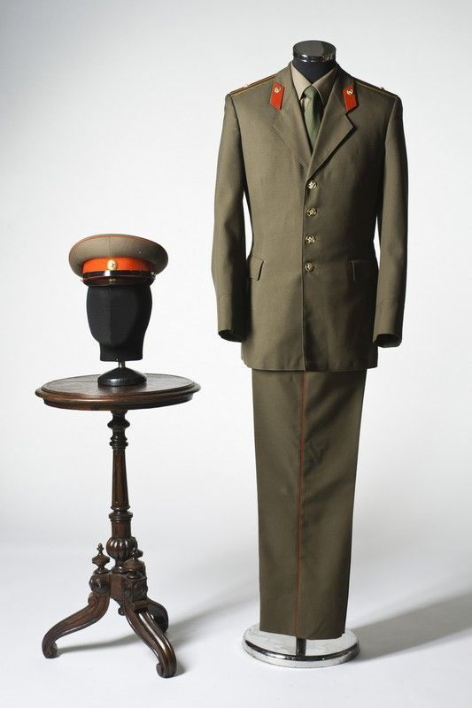 Soviet Army officer costume, USSR, 1970s