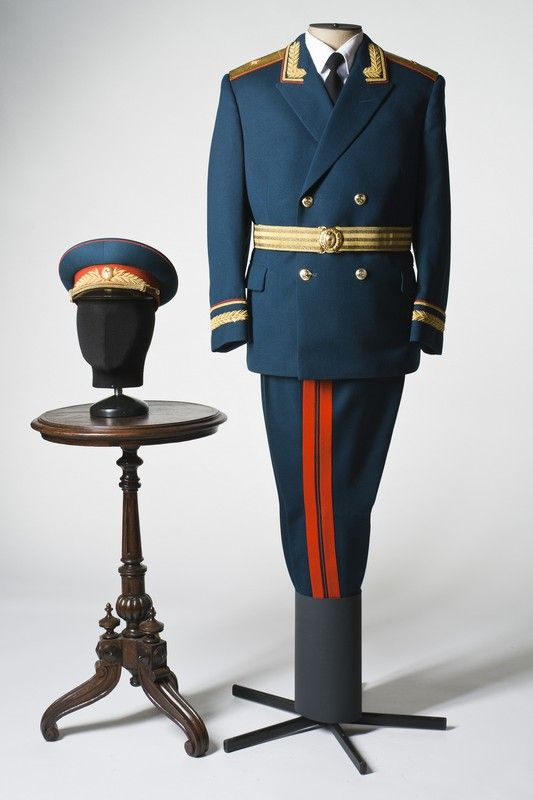 Military parade costume, USSR, 1980s