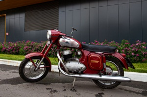Motorcycle Java 350 (1954-1974)