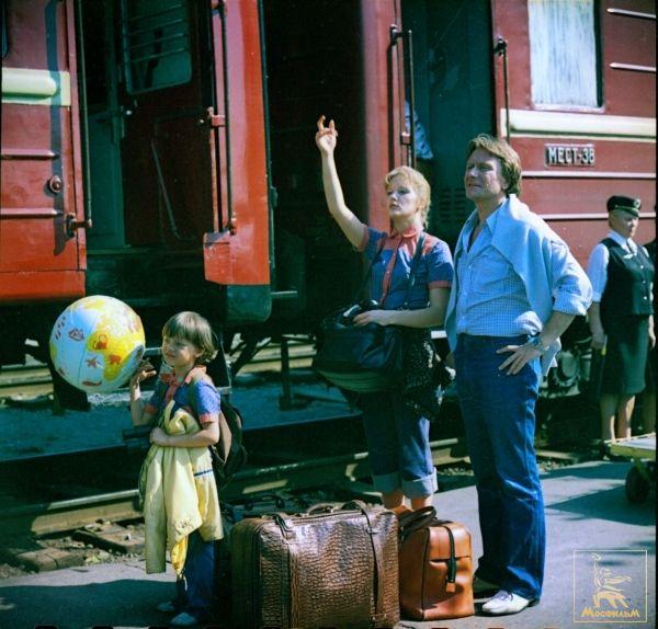 FAdamovich EProklov AMironov In The Film Budte Moim Muzhem Be My Husband By ASurikova 1981