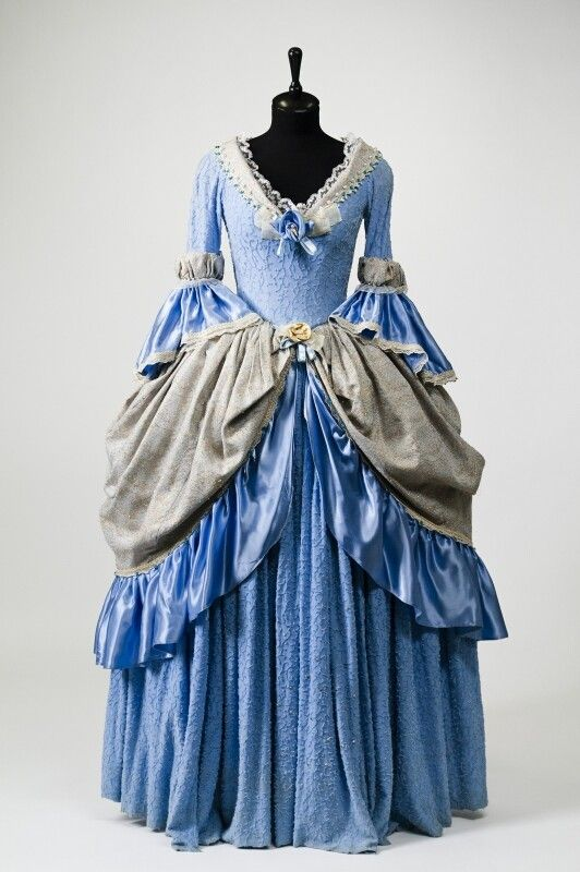 0294 Dress from XVIII century, Russia