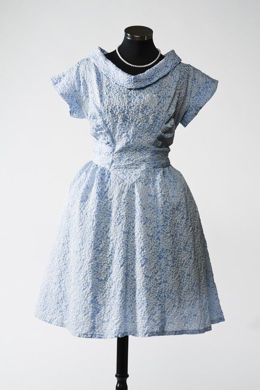 2863 Dress from the 1950s, Russia