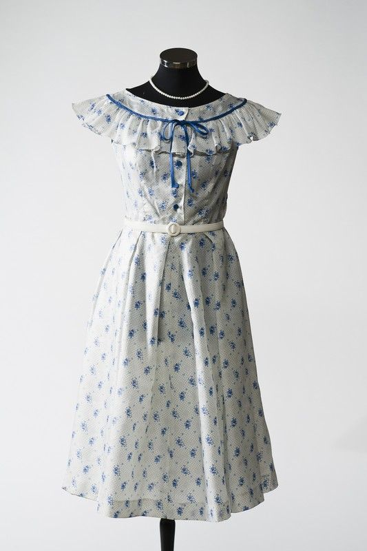 2865 Dress from the 1950s, Russia