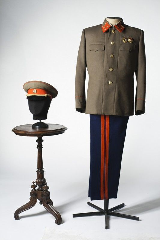 Lieutenant-General costume, USSR, 1940s