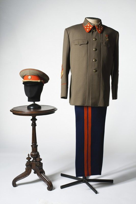 Army general costume, USSR, 1940s