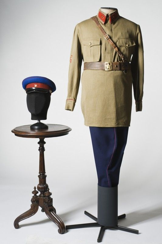 NKVD officer costume, USSR, 1940s