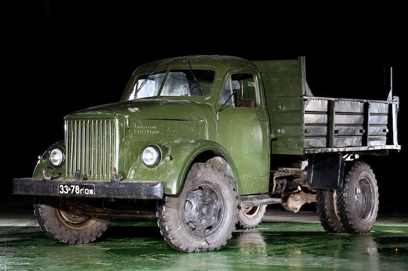 Freight and special vehicles made in Russia and the USSR