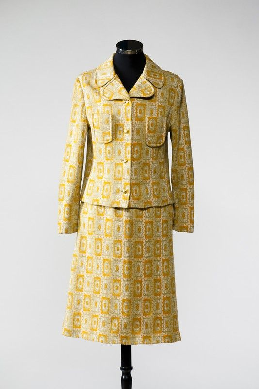 2888  Two piece suit from the 1960s, Russia