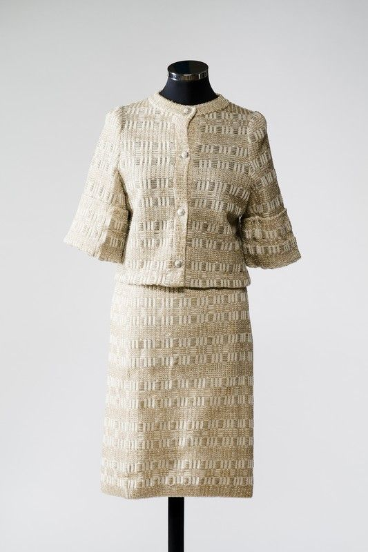 2887  Two piece suit from the 1960s, Russia