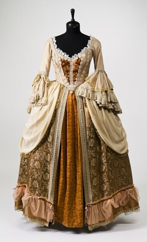 0290 Dress from XVIII century, Russia