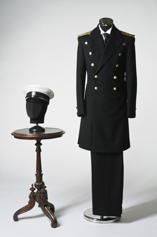Navy officer costume, Russia, XIX century